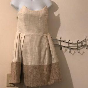 Lorrick strapless dress